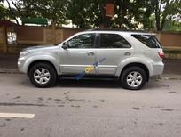 Xe Toyota Fortuner sản xuất 2009, màu bạc