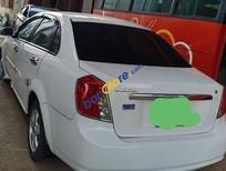Xe Daewoo Lacetti sản xuất năm 2009, màu trắng đẹp