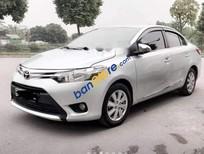 Bán Toyota Vios E sản xuất 2015, màu bạc, giá 410tr