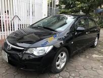 Bán xe Honda Civic AT năm 2007, màu đen, 1 chủ sử dụng thừ đầu, tất cả còn rất tốt