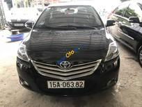 Cần bán lại xe Toyota Vios MT năm 2012, màu đen
