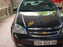 Cần bán Daewoo Lacetti sản xuất 2005, màu đen, xe nhập