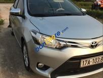 Bán Toyota Vios MT năm sản xuất 2015, màu bạc