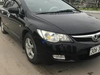 Cần bán xe Honda Civic MT sản xuất năm 2006, màu đen số sàn