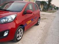 Cần bán xe Kia Morning năm sản xuất 2013, màu đỏ, giá chỉ 213 triệu