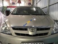 Cần bán lại xe Toyota Innova G sản xuất năm 2007, màu bạc xe gia đình