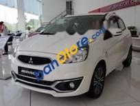 Cần bán Mitsubishi Mirage 1.2L-CVT sản xuất 2019, màu trắng, xe nhập