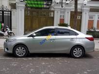 Bán xe Toyota Vios E sản xuất 2017, màu bạc