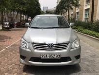 Cần bán Toyota Innova 2.0E 2013, số tay, bản đủ 2 túi khí