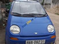 Bán ô tô Daewoo Matiz 0.8 MT sản xuất 2002, màu xanh lam, sử dụng giữ gìn, cẩn thận