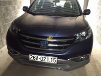 Bán Honda CR V sản xuất năm 2013, màu xanh lam, xe nhập, giá 750tr