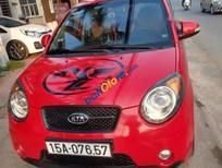 Bán xe Kia Morning 2009, màu đỏ, đăng kiểm đến cuối năm 2020