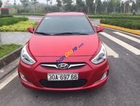 Cần bán Hyundai Accent Blue sản xuất năm 2014, màu đỏ