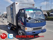 Bán xe tải JAC 2t4- thùng dài 3.7m