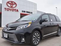 Bán Toyota Sienna 3.5 Limited năm sản xuất 2019, màu đen, xe nhập