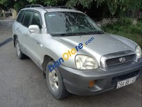 Bán xe Hyundai Santa Fe sản xuất năm 2004, màu bạc, xe nhập, giá 245tr