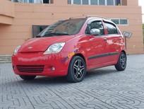 Cần bán lại xe Chevrolet Spark năm sản xuất 2009, màu đỏ số tự động
