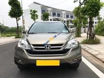 Bán Honda CR V 2.4AT sản xuất 2010, màu vàng chính chủ