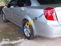 Cần bán Daewoo Lacetti MT năm 2009, màu bạc