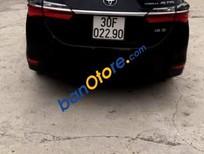 Cần bán xe Toyota Corolla altis 1.8E sản xuất năm 2018, màu đen, nhập khẩu chính chủ