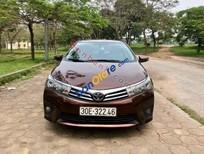 Bán Toyota Corolla altis 1.8G AT sản xuất 2016, màu nâu, xe gia đình