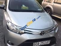 Cần bán lại xe Toyota Vios năm 2015, màu bạc