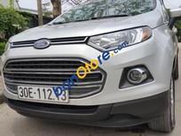 Bán Ford EcoSport 1.5 AT sản xuất năm 2015, màu bạc, 490 triệu