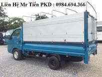 Bán xe tải Kia Thaco tải 1 tấn vào phố, đủ các loại thùng, hỗ trợ trả góp, thủ tục nhanh gọn