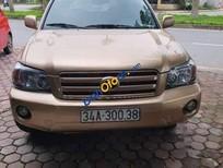Bán Toyota Highlander sản xuất 2005, màu vàng, nhập khẩu