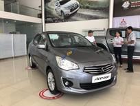 Bán ô tô Mitsubishi Attrage MT Eco sản xuất 2019, màu xám, xe nhập