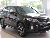 Bán ô tô Kia Sorento GAT sản xuất năm 2019, màu đen, 799 triệu