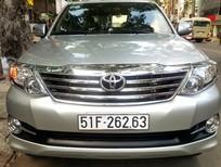 Cần bán lại xe Toyota Fortuner 2015, màu bạc, nhập khẩu, giá 795tr