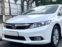 Bán Honda Civic năm 2013, màu trắng như mới