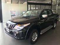 Bán xe Mitsubishi Triton 4x2 MT sản xuất 2019, màu đen, nhập khẩu