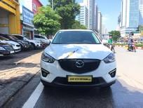 Cần bán xe Mazda CX 5 2.0 sản xuất 2015, màu trắng chính chủ, giá tốt