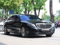 Bán Mercedes S500L 2016, màu đen, đăng kí tên công ty 2016 Hà Nội