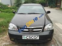 Cần bán lại xe Daewoo Lacetti MT năm 2008, màu đen