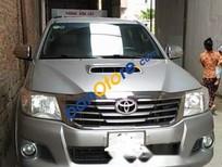Bán xe Toyota Hilux 2.5MT đời 2014, màu bạc, số sàn