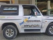 Bán Hyundai Galloper 2004, màu bạc, xe nhập