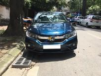 Bán Honda City 1.5AT năm sản xuất 2017, màu xanh lam số tự động
