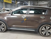 Cần bán gấp Kia Sportage Limited 2.0 AT sản xuất 2011, màu nâu, nhập khẩu nguyên chiếc số tự động, giá chỉ 566 triệu