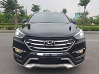 Bán Hyundai Santa Fe 2.4L 2017, màu đen xe cực đẹp