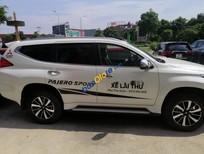 Bán xe Mitsubishi Pajero Sport 4.4 AT năm 2017, màu trắng, nhập khẩu
