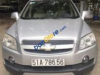 Cần bán xe Chevrolet Captiva LT sản xuất năm 2008, màu bạc