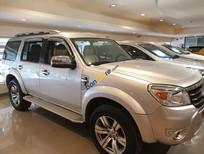 Bán Ford Everest AT 2.5L sản xuất 2010, màu bạc