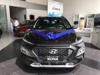 Bán ô tô Hyundai Kona 2020, màu đen, giá tốt, tặng toàn bộ phụ kiện, xe có sẵn giao ngay liền tay