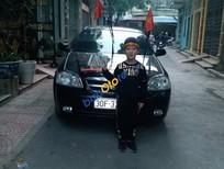 Cần bán xe Daewoo Lacetti sản xuất năm 2008, màu đen