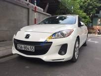 Cần bán Mazda 3 S năm 2013, màu trắng, giá chỉ 455 triệu