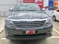 Cần bán Toyota Fortuner 2.7V 2015, màu xám