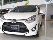 Cần bán Toyota Wigo 1.2AT 2019, màu trắng, nhập khẩu, giá 375tr